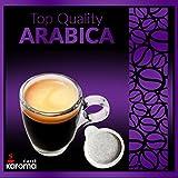 150 Karoma Easy Serve Espresso Pods! (Top Quality Arabica) (Paper Pods)