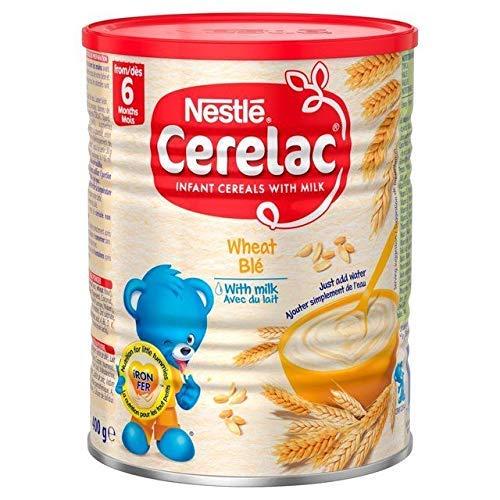 Nestle Cerelac Wheat with Milk - 400g (England)