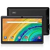 ZONKO Tablette Tactile pour Enfants Android 10 Tablette 7 Pouces, 1+16G Extensible jusqu'à 128G, 1024x600 IPS,2.4Ghz WiFi, Caméras 0.3MP+2.0MP Noir
