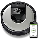 iRobot i7156 Roomba i7 Robot Vacuum Cleaner, Learns, maps, and adapts to Your Home, Ideal for Pets, with Rubber Brushes, Power-Lifting Suction-WiFi Connected and programmable via app, Plastic