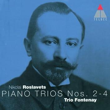 Roslavets : Piano Trios Nos 2 - 4