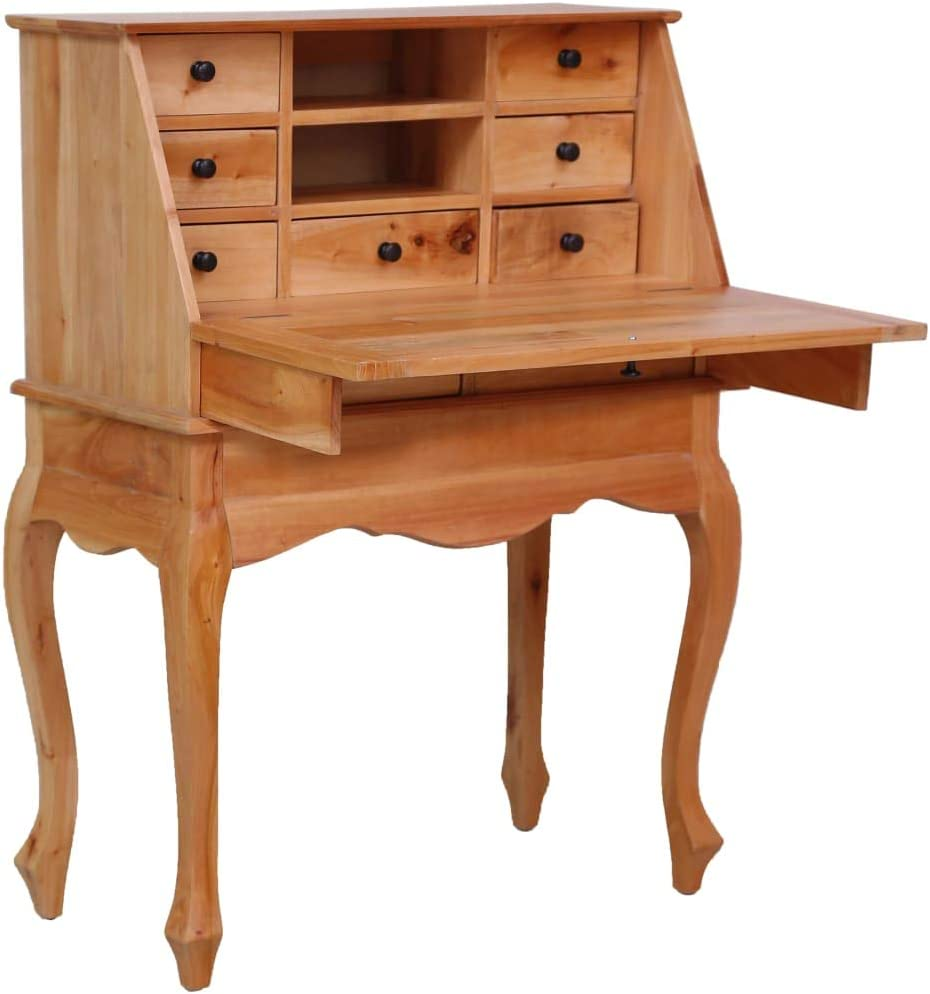 Unfade Memory Soldering Secretary Desk Writing Home Study Wood Louisville-Jefferson County Mall Table Offic