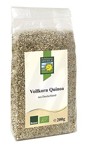 Bohlsener Mühle Vollkorn Quinoa aus Deutschland, 6er Pack (6 x 200 g)