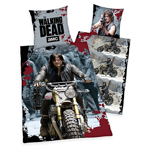 Joy Toy T23145 The Walking Dead Wendebett-wäsche Daryl's Ride, Bunt