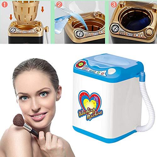 Mini Beauty Blender Washing Machine,Mini Multifunktions Waschmaschine,Make-Up Schwamm Waschmaschine (blue)
