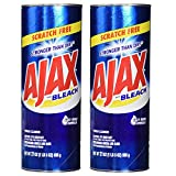 Ajax All-Purpose Powder Cleaner with Bleach 21 oz (Pack of 2)