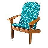 DermaPAD Adirondack Chair Cushion 46' x 22' x 2-1/2' (Madeira Blue Print)