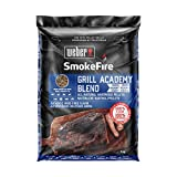 Weber Wood Pellets Grill SmokeFire 100% Pellet di Legno Naturale per Barbecue Academy Blend, 0