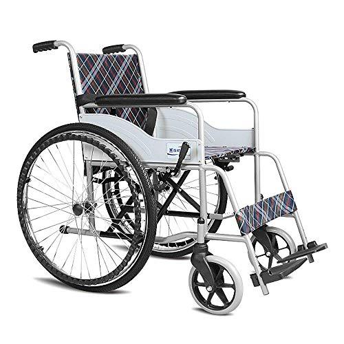 HTL Gehhilfe Auxiliary Rollstuhl Faltbare Bewegliche Alte Leute Scooter Feste Fußstütze Sicherheitsgurt Der Größte Lager 100Kg Größe: 103 * 66,5 * 90 cm