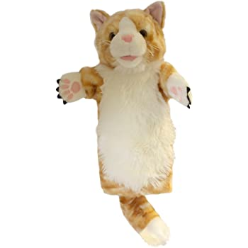 The Puppet Company CarPets Tabby Cat Hand Puppet PC008032