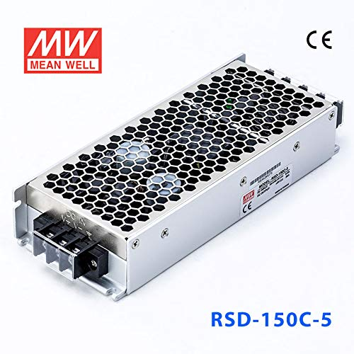 RSD-150C-5 Outlet ☆ Free Shipping DC Power Supply Single-OUT 30A 150W Kansas City Mall 5V 5-Pin