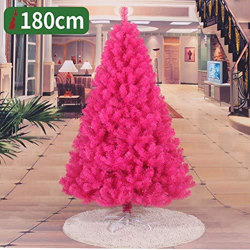 GAOYANZIChristmas Árboles de Navidad Artificiales, árboles de Navidad de Color Rosa de pie 120cm, 150cm, 180cm Decoraciones de Alta Navidad y Regalos,Rosado,150CM