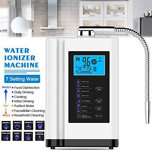 HWTP Wasseraufbereiter - LCD-Touch-Control-Alkali-Säure-Maschine PH 3.5-11 selbstreinigende 6000L Wasserfilter Ionisation Wasseraufbereiter