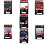 [ALL COLORS SET!!!!] 7x 560ct Packs KMC Hyper Matte (Red,Blue,Purple,Green,Clear,Black,White) Sleeves Fits Standard Size MTG, Magic, Pokemon etc... from Japan by KMC