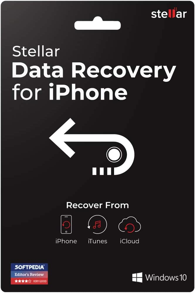 Stellar New item Data Recovery for iPhone For Standa Windows Software online shop