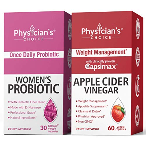 Women's Prebiotic-Probiotic & Apple Cider Vinegar Capsules Bundle