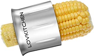 Corn Stripper -LOVKITCHEN Circular Threshing Creative Stainless Steel Corn..