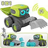 GILOBABY Remote Control Robot Toys for Boy, Kids Rc Robots Car Toys, Children