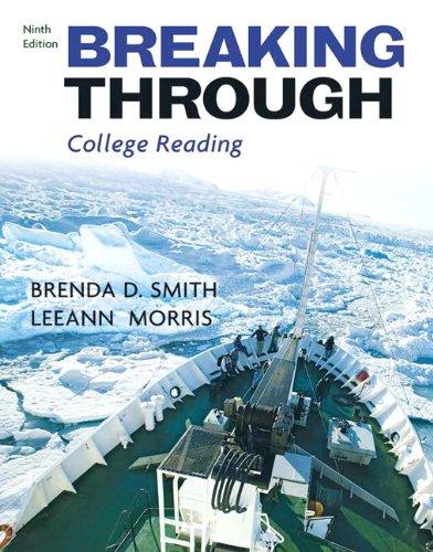 Breaking Through: College Reading