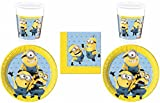 52-teiliges Party-Set Minions - Lovely Minions - T