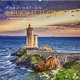 Faszination Leuchttürme Edition: An den Grenzen der Landschaft. Wandkalender 2020. Monatskalendarium. Spiralbindung. Format 46 x 46 cm