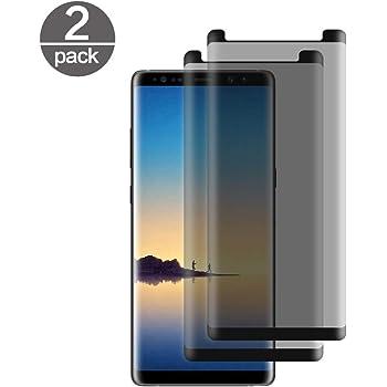 2 Pack] Templado Vidrio Samsung Galaxy Note 8, con Filtro de ...