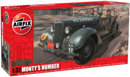 Airfix - Kit de Coche Monty´s Humber Snipe Staff (Hornby A05360)