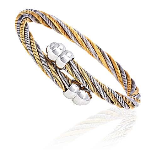 New Charriol Celtic Jewels Bracelet Bangle 04-81-171 Medium Unisex Jewelry