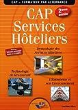 CAP Services hôteliers 2ème année - Elève de Jean-François AUGEZ-SARTRAL (15 mai 2014) Broché - 15/05/2014