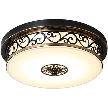 Retro Design Decken Beleuchtung weiß//Silber Flur Wohn Schlaf Zimmer Lampen rund