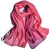 JL 上質 シルク 大判 ストール ショール スカーフ マフラー 絹のスカーフ (新色12)