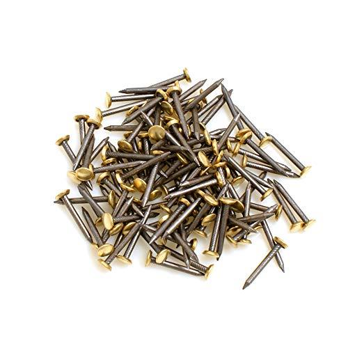 Design61 - Chiodi in acciaio, 2,0 x 20 mm, 100 pezzi