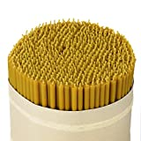 NKlaus 164g. Beeswax altar candles church quality thin candles ritual candles (approx. 50 pieces) 36261