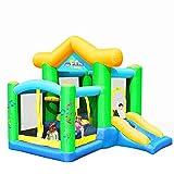 Castillo Hinchable Interior Trampolín Para Niños Pequeños Tobogán Infantil Parque De Atracciones Infantil Piscina Infantil Casa Inflable De Juguete Infantil ( Color : Green , Size : 250*270*220cm )