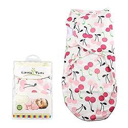 OurWarm Baby® Einschlagdecke Baby Decke, Infant Swaddle Decke Pucken Decken 100% Baumwolle 70* 60cm