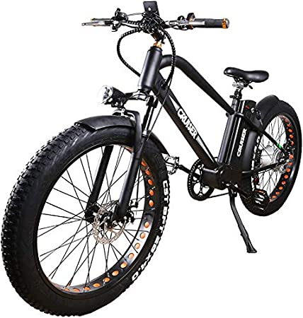 Nakto Fat Tire Electric Bike Beach Snow Bicycle