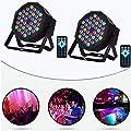 DJ Par Lights, 36LED Uplighting Lights for Events, Stage Lighting Sound Activated, Remote and DMX Control, for Wedding, Party, Concert, Festival