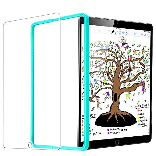 ESR Panzerglas Bildschirmschutz Folie Kompatibel mit iPad 2018 / iPad 2017 Modell (9,7 Zoll) - Schutzfolie für iPad Air/iPad Air 2 - Bildschirmschutzfolie für iPad Pro 9.7 / iPad 6 [mit Montage Werkzeug]