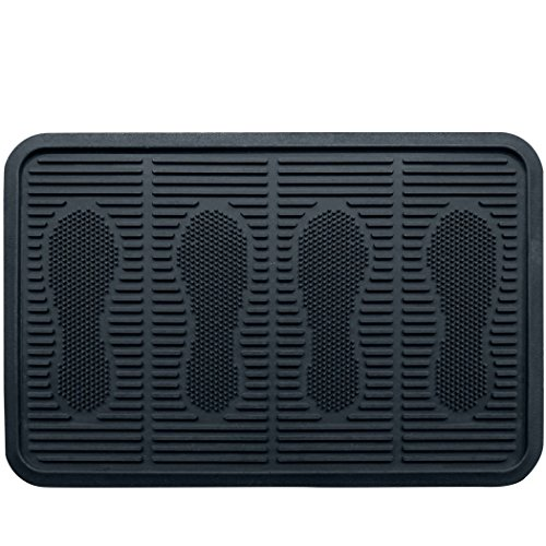 SafetyCare Rubber Shoe & Boot Tray - Multi-Purpose - 60 x 40 cm - 1 Mat