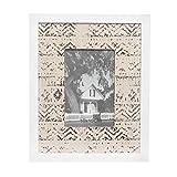 Portafoto etnico, da 21X26 cm Bianco