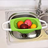 PLEASE SEE OFFER BELOW BUY 1 GET 1 FREE Size :49.5 cm x 10 cm x 18 cm (lxhxb) Color :Green & White Material : Plastic Can be used for washing fruits vegetables Can be used as a drip basket on the sink for crockery Convenient to use on the table