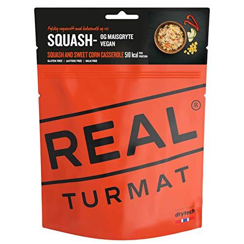 Drytech Real Turmat Zucchini Mais Eintopf Trekking Mahlzeit Outdoor Essen Nahrung Vegan