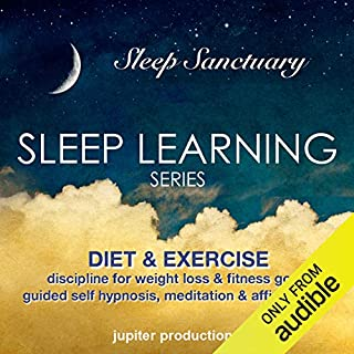 Diet & Exercise Discipline for Weight Loss & Fitness Goals audiobook cover art