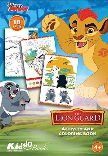 QuackDuck Disney Junior Malblock The Lion Guard - Die Garde der Löwen - Activity Coloring Book - Malen Schneiden Kleben (9006)