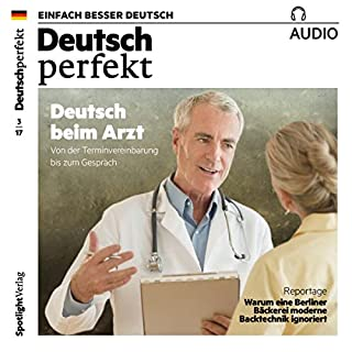 Deutsch perfekt Audio. 3/2017 Titelbild