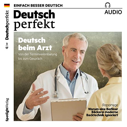 Deutsch perfekt Audio 3/2017 audiobook cover art
