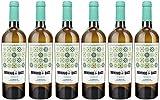 DOMINIO DE BACO - Vino Blanco D.O. de la Mancha, Verdejo, Aroma Intenso, Pospaladar Equilibrado, Ideal con Queso, Marisco, Pescado y Carnes Frías, Pack 6 x 75cl