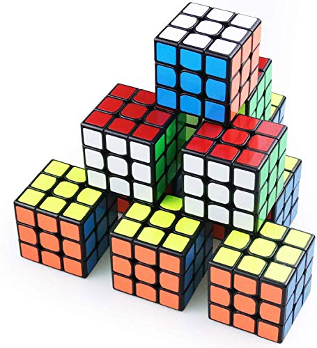 Full Size 3×3×3 Cube Set,Puzzle Party Toy, Eco-Friendly Material with Vivid Colors,Party Favor...