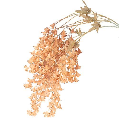 XHXSTORE 3pcs Flores Artificiales Largas Decoración 85cm Plastico Planta Colgante Artificial para...