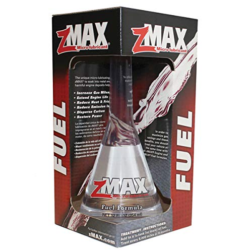 zMAX 51-112 - Fuel Formula - Easy to Use - Fuel Treatment Reduces Carbon Build-Up & Lubricates Metal - Extends Life of Car or Truck - Runs Efficiently Improving Gas or Diesel Mileage - 12 oz. Single